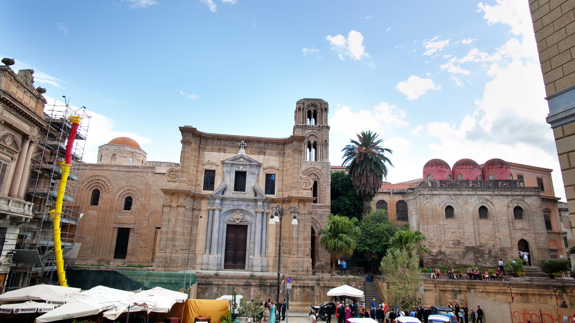 Matrimonio Natalizio Palermo : Matrimonio stile reportage a palermo cappella palatina