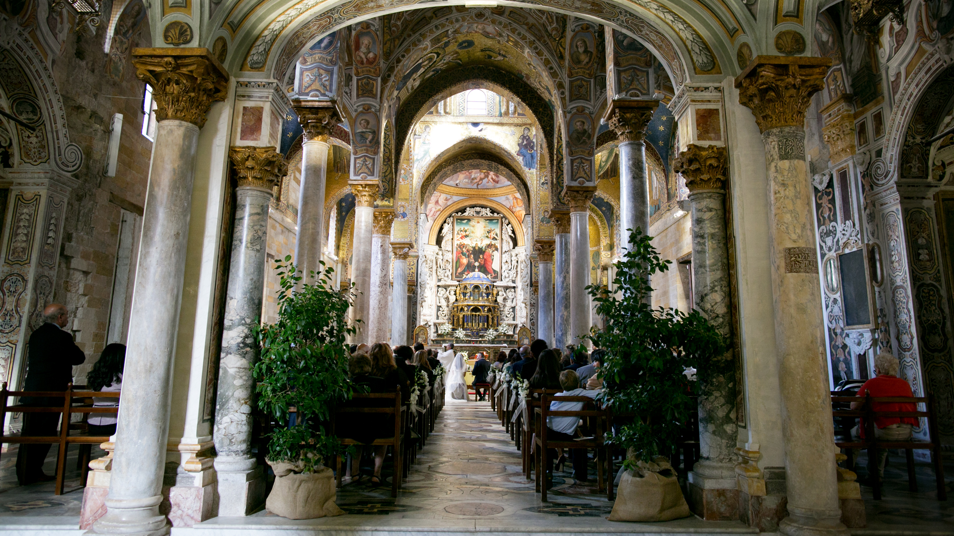 Matrimonio Rustico Palermo : Matrimonio stile reportage a palermo cappella palatina